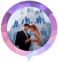 Thème de mariage Walt Disney