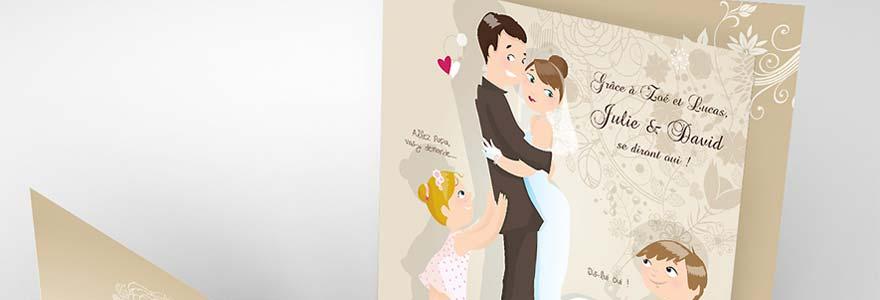 Les faire part de mariage