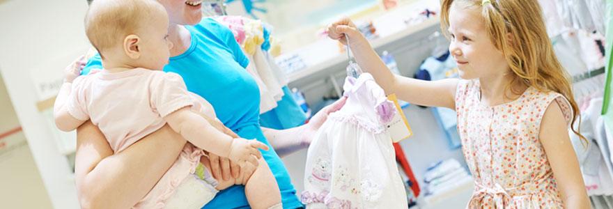 choix d'une robe cérémonie bébé