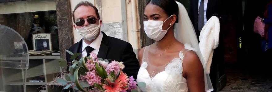 mariage en temps de pandémie du covid-19