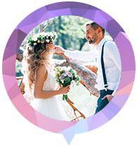 Thème de mariage bohème