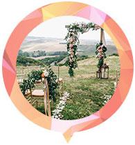 Thème de mariage champêtre
